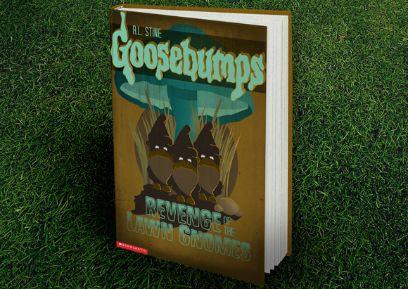 Goosebumps cover design